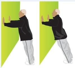 Wall Push-ups - Home Workout Blog