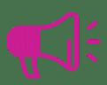 megaphone-pink