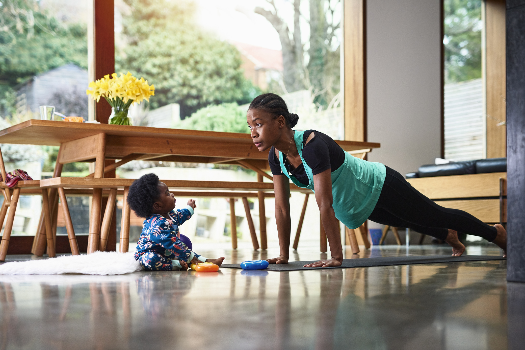 Exercise tips to follow when working at home